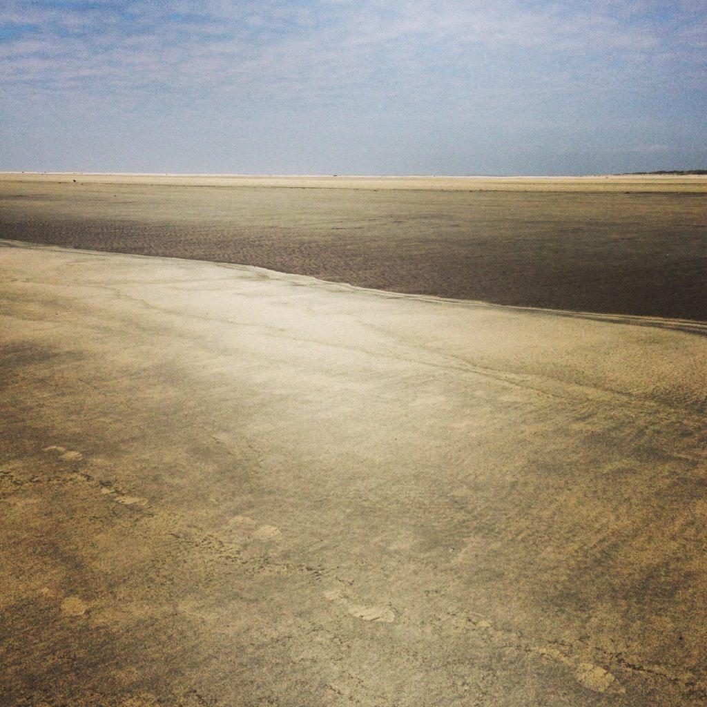 Strand und Watt auf Fanø.