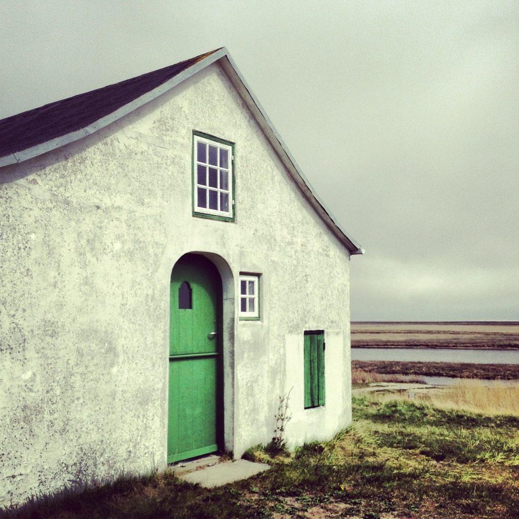 Kleine Fischerkapelle auf Fanø.