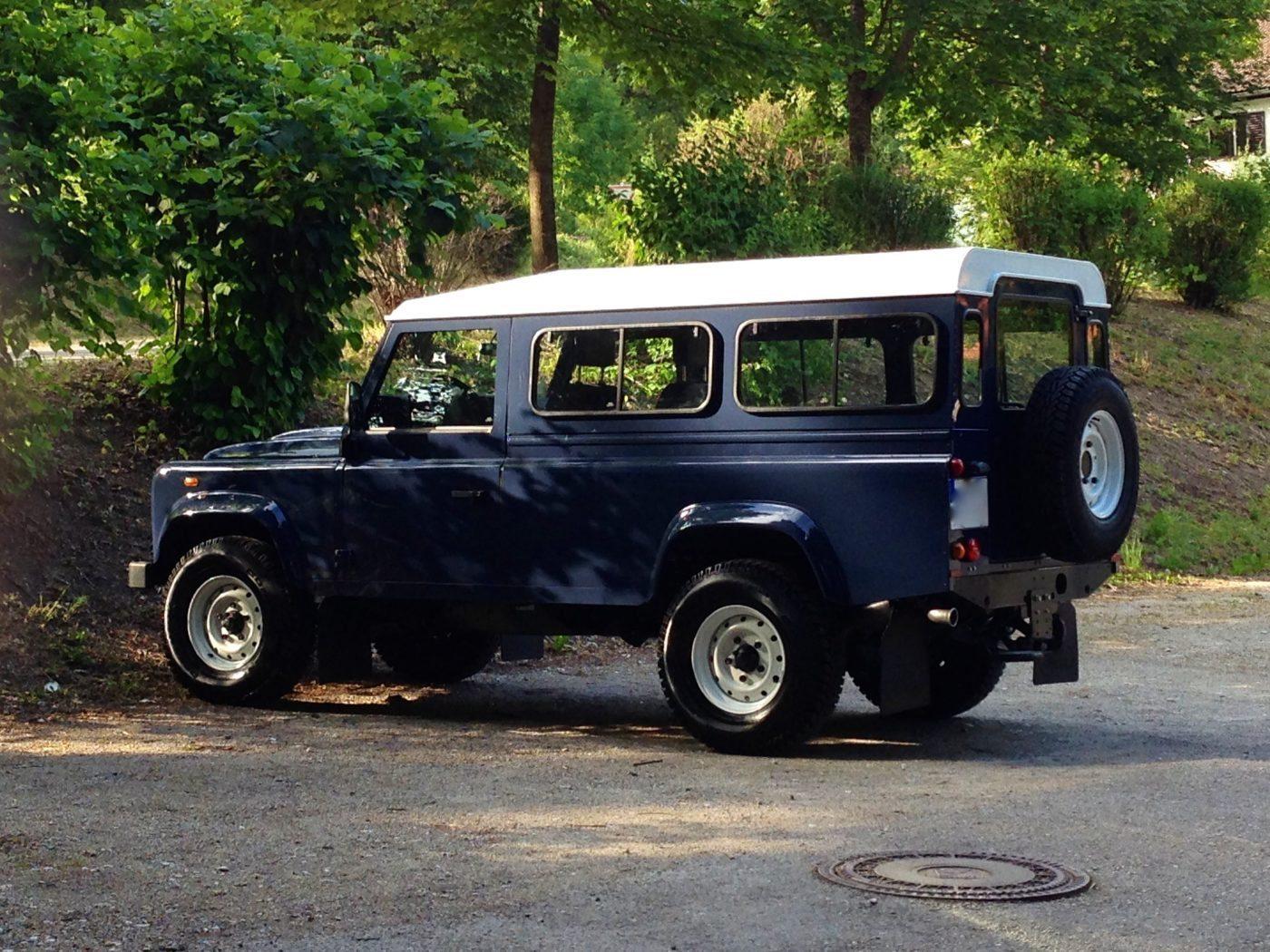 Die Basis für unser Reisemobil: der Land Rover Defender TD4 110 HT