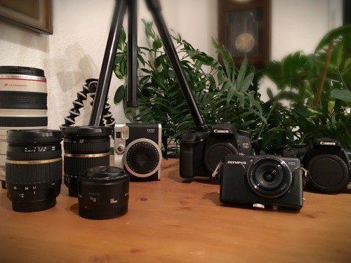 Kamera für Reise- und Tierfotografie