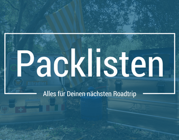 Packliste Roadtrip