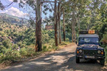 Mit dem Land Rover durch die Usambara Berge in Tansania