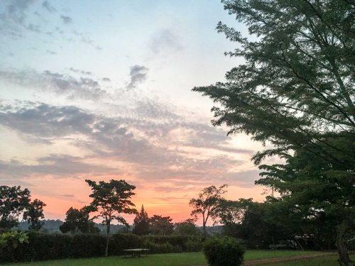 Uganda: Sonnenuntergang am Nil