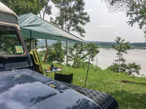 Uganda: Camp am Ufer des Nil - The Haven