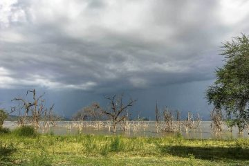 Kenia: Gewitter über dem Lake Baringo