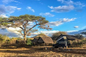 Chyulu Campsite im Tsavo West