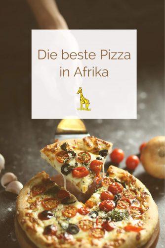 Die beste Pizza in Afrika