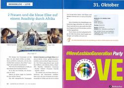 Reisevortrag auf den Lesbenkulturtagen 2018