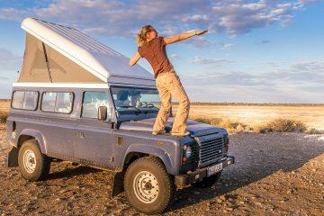 Buch Afrika Reisebericht Titelbild Land Rover