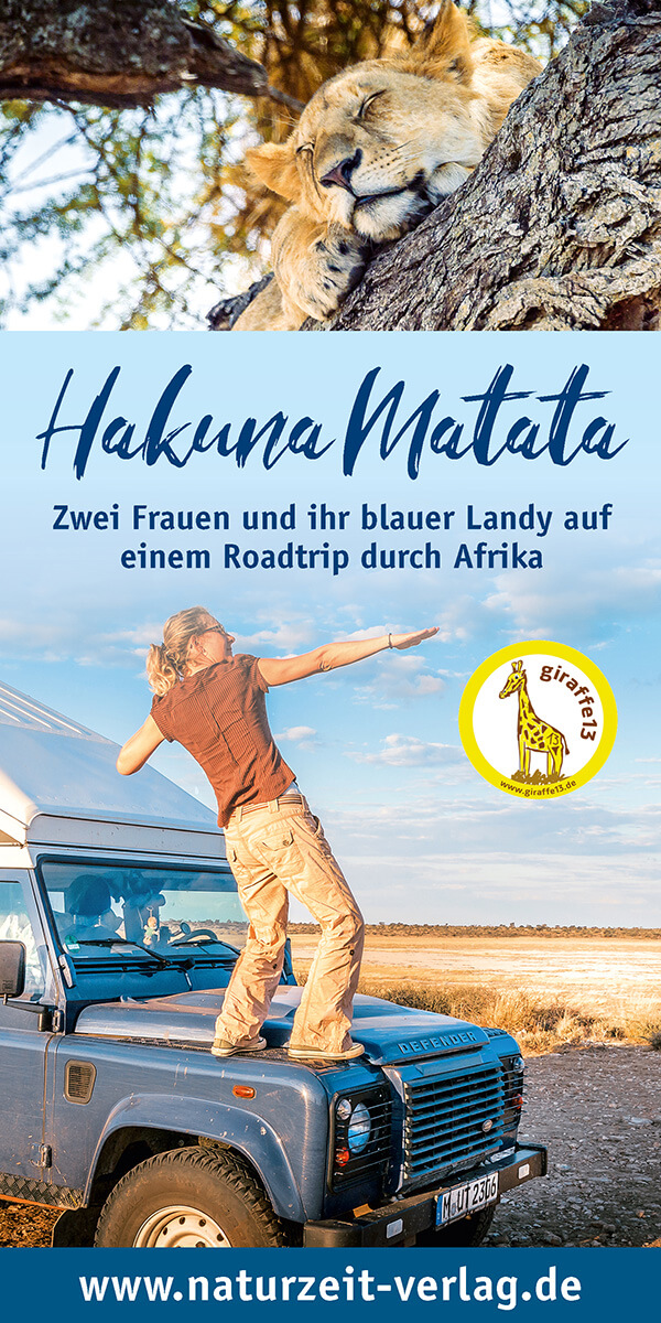 Buchcover Afrikabuch Hakuna Matata
